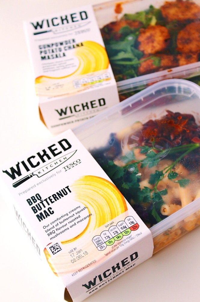 Tescos New Wicked Kitchen Range A Review Ad Gina